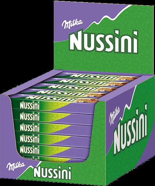 Milka Nussini Haselnuss 35x31.5g