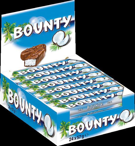 Bounty Vollmilch 24x57g