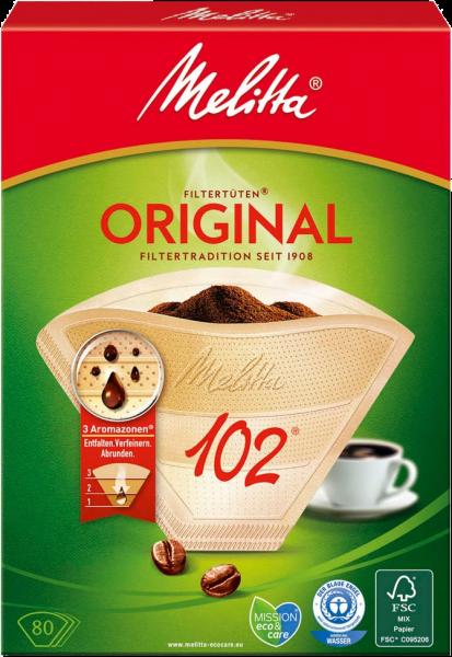 Melitta Original Filtertüten 102