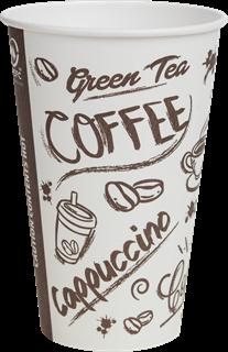 Kaffeebecher to go 0,34l (12 OZ) mit DSD