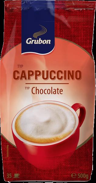 Grubon Schaum-Cappuccino Typ Chocolate